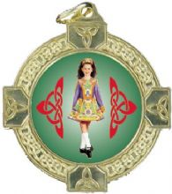 Economy 40mm Celtic Medal